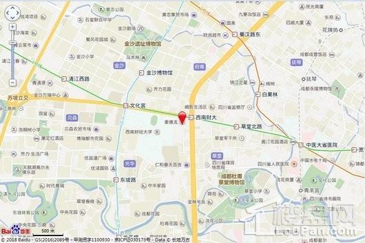 西城壹号交通图