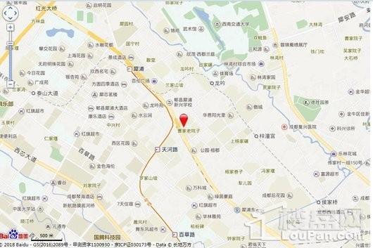 碧桂园锦熙府交通图