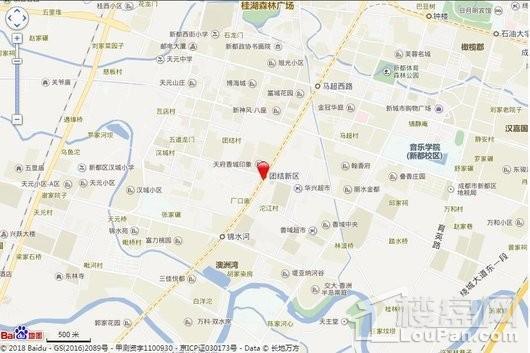百郦锦城交通图