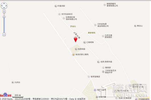 巨龙·金城御景园交通图