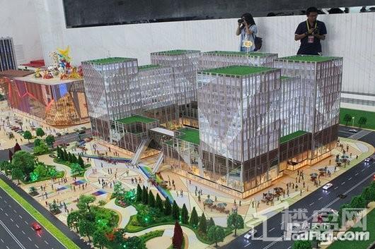北辰希尔顿广场实景图