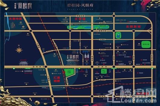 碧桂园·凤麟府交通图