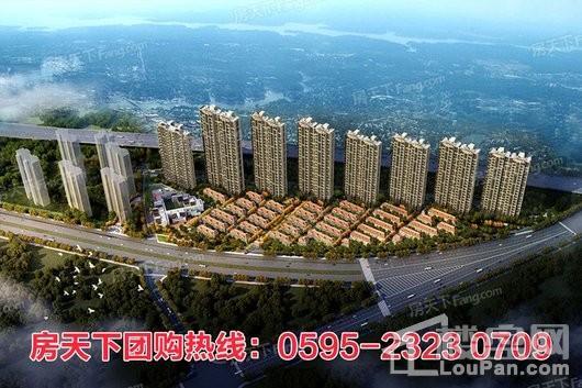 晋江世茂御龙湾第五期项目鸟瞰图