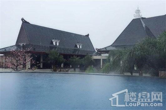 泉州天沐温泉国际旅游度假区无边际泳池-1