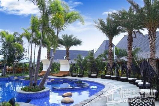 泉州天沐温泉国际旅游度假区无边际泳池-3