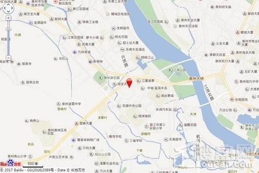 百捷中央公园御府交通图