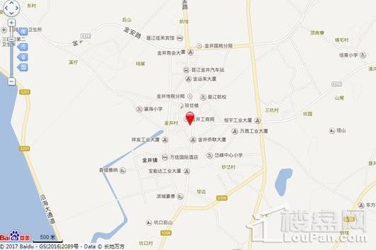 滨海新城电子地图