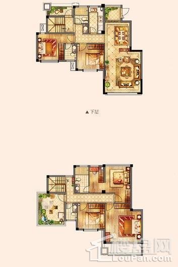 百宏御墅香堤洋房153㎡ 4室2厅2卫1厨