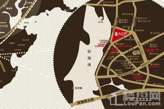 宝业天宸湾区位图