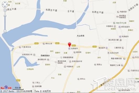 星湖湾交通图