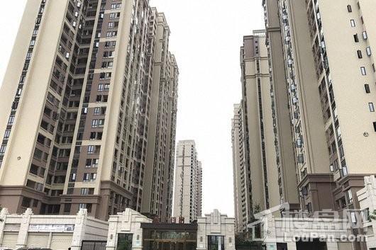 金王首府小区入口