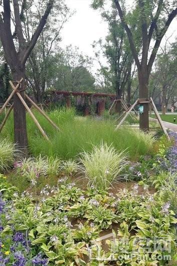 太原万科翡翠公园实景图