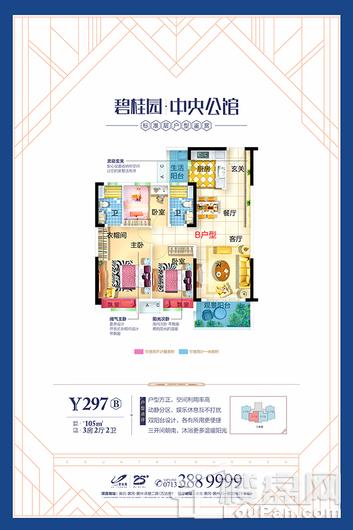 碧桂园·中央公馆户型图