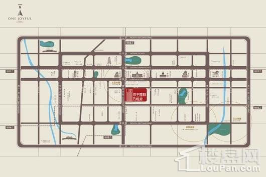 帝王国际交通图