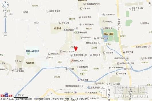 厚德中央锦城交通图