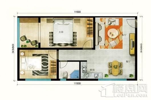 嘉悦壹号公寓户型图