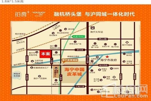 铂爵公馆交通图