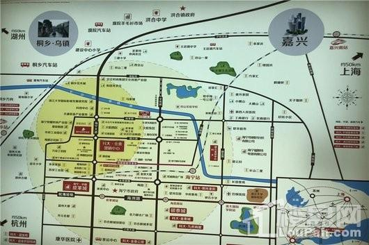 金泰时尚花苑交通图