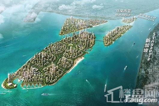 碧桂园·森林城市整体鸟瞰图