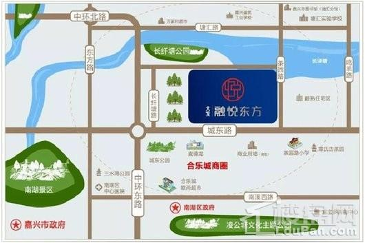 大发·融悦东方交通图
