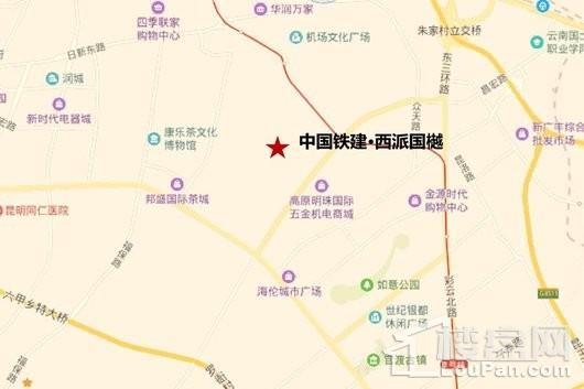 中国铁建·西派国樾交通图