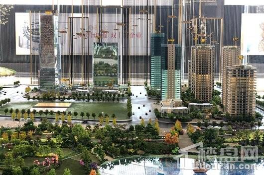 中国铁建·西派国樾实景图