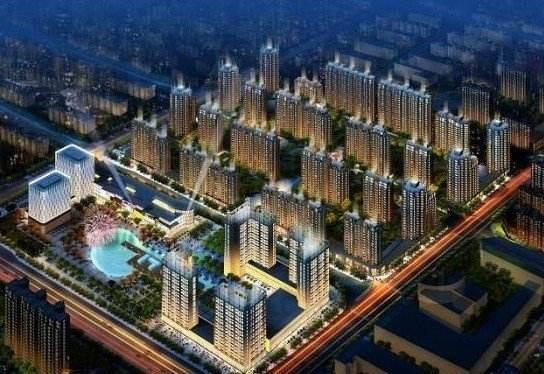 鸿坤·理想城效果图