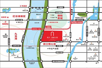 凯宇海德公园位置图
