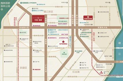 中海锦城位置图