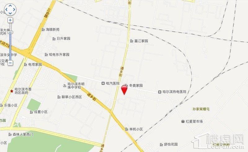 金瑞林城位置图