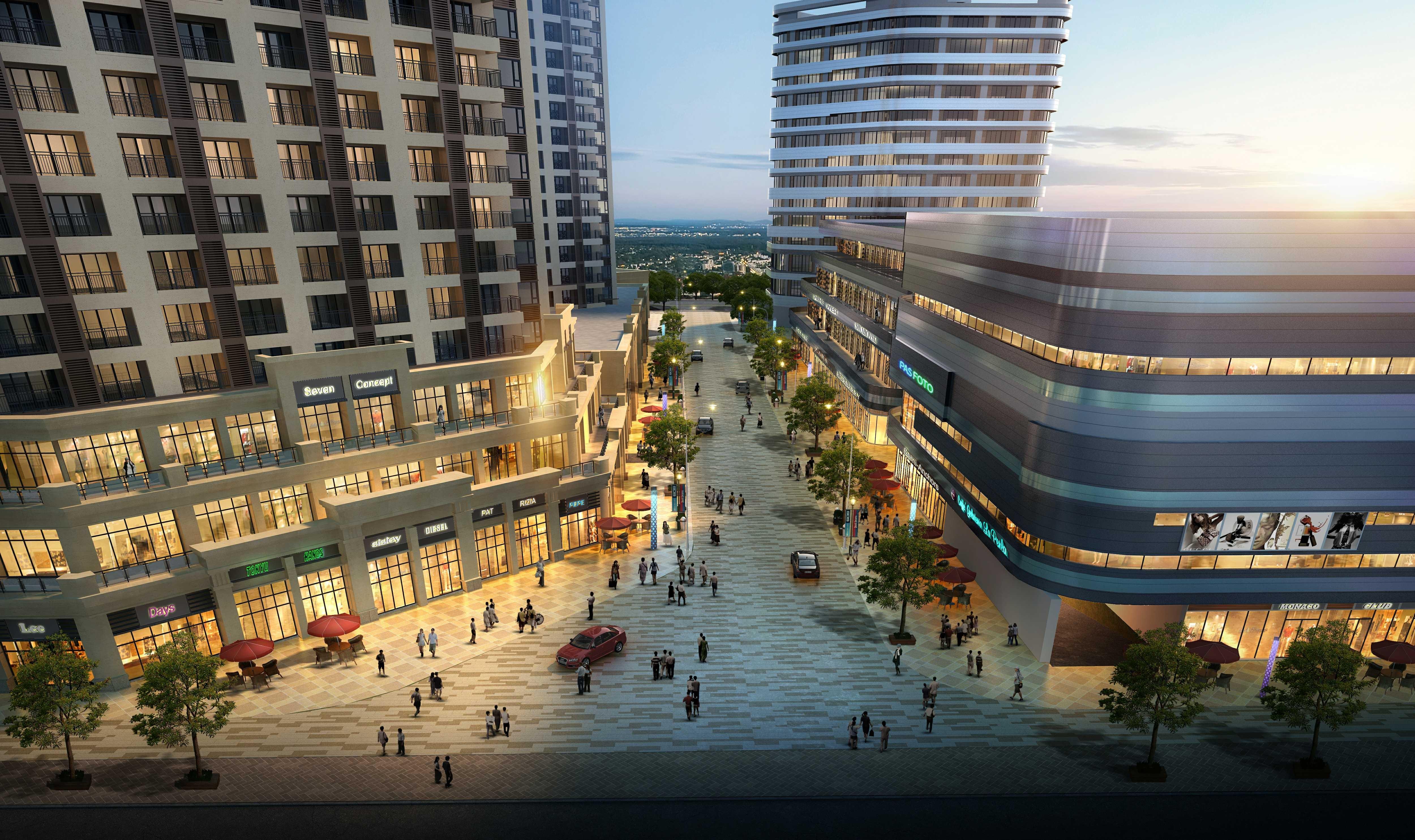 碧桂园未来城效果图