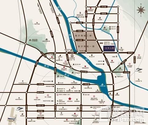 文華上郡位置圖