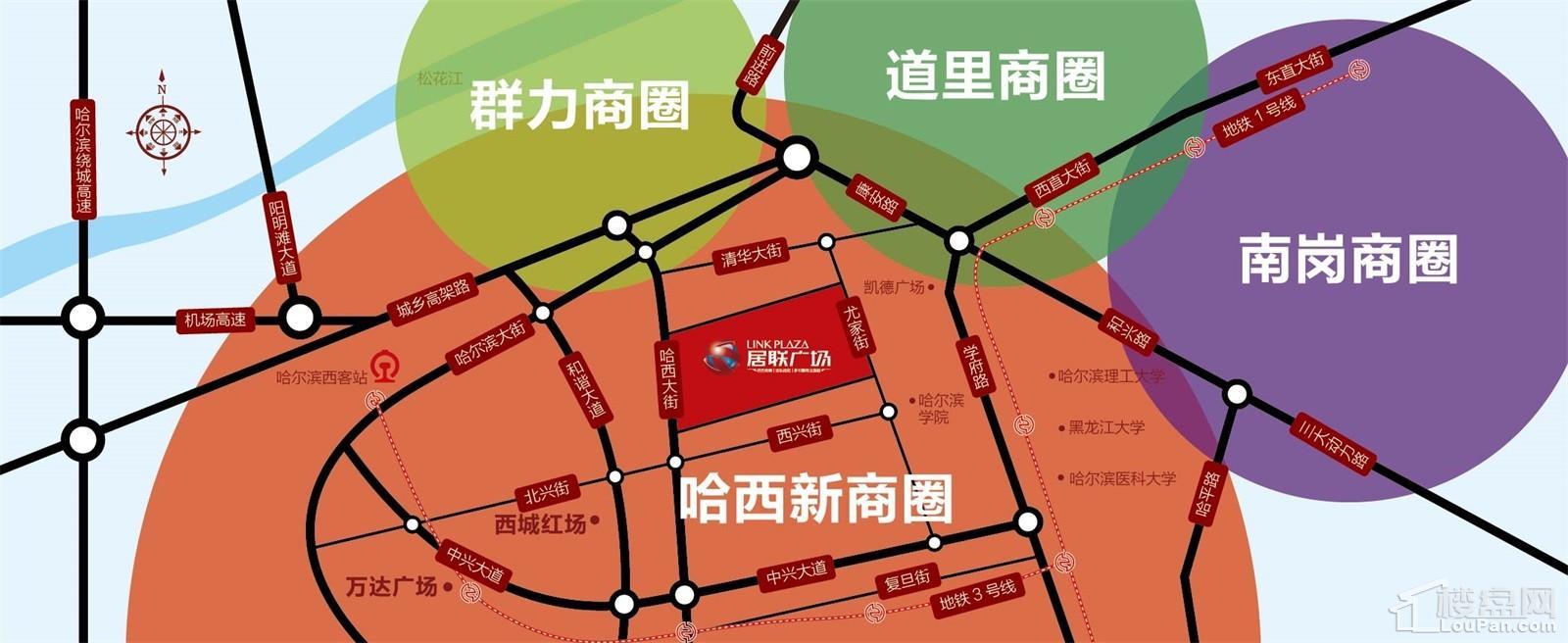 居联广场位置图
