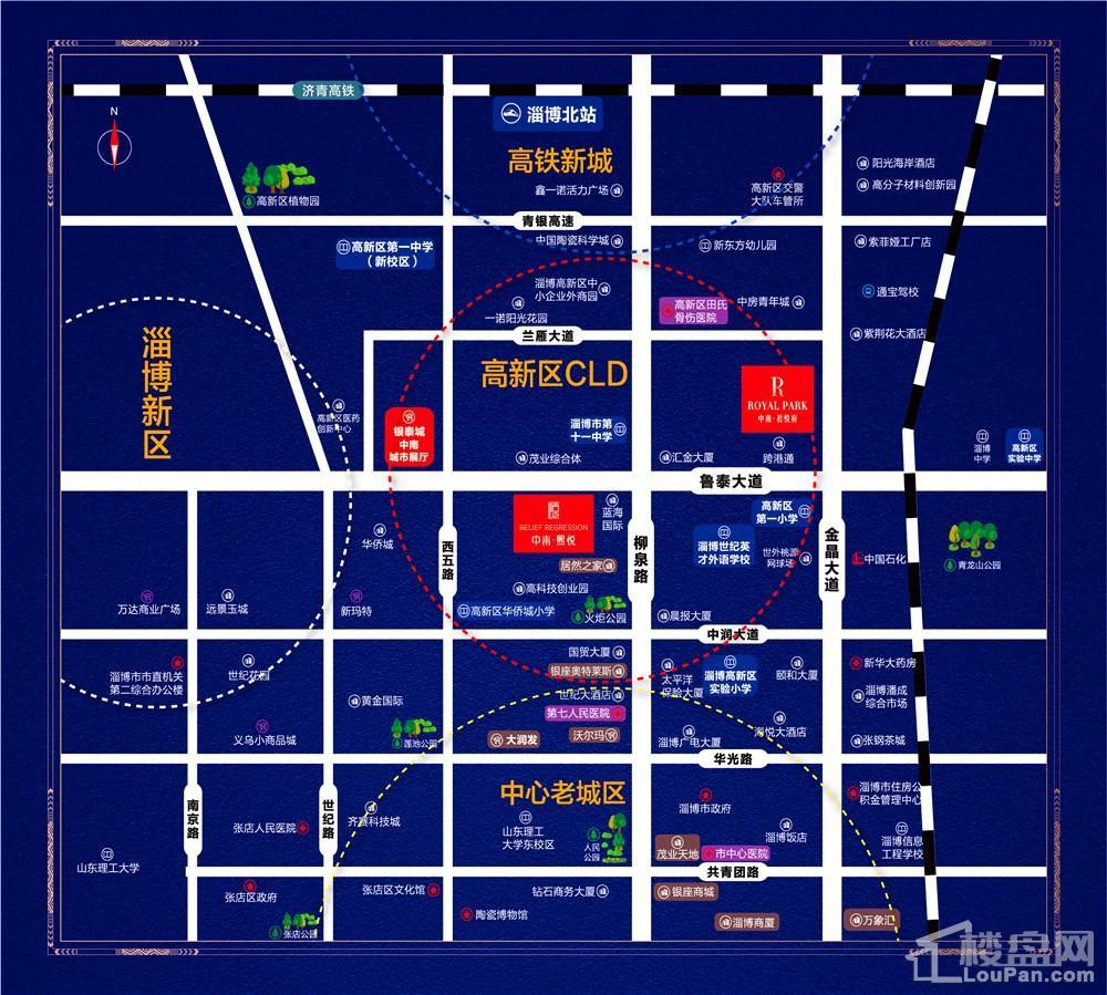 中南·熙悦位置图