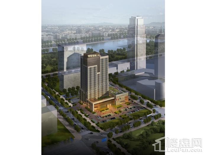 国际金融大厦效果图