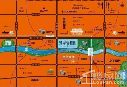 蚌埠碧桂园区位图