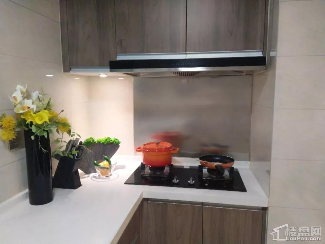 金鹏中国印124㎡样板房厨房