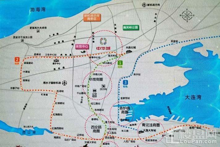 中华城领汇位置图