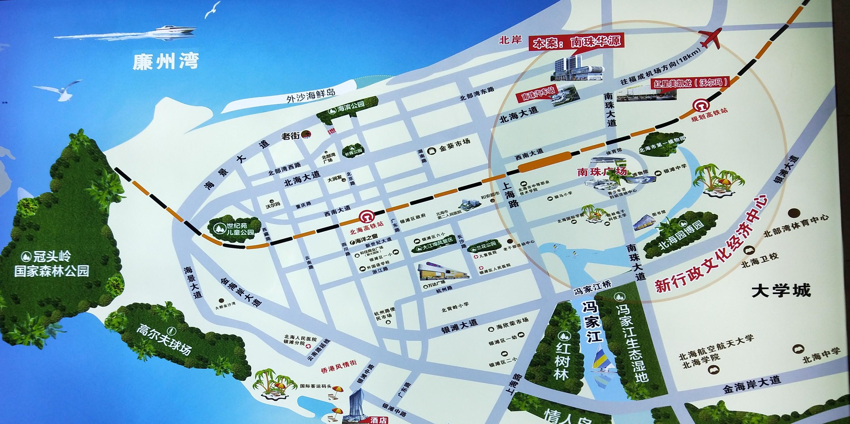 南珠华源区位图