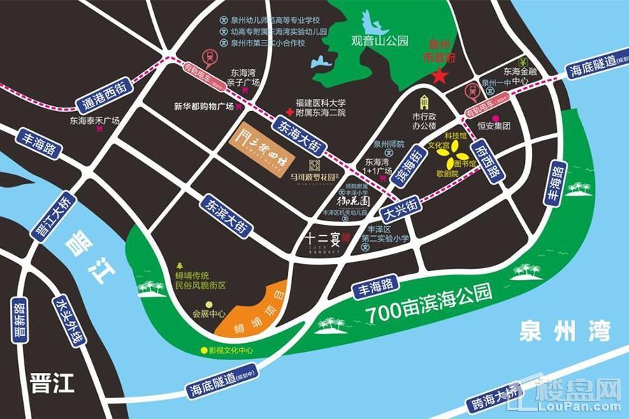 东海湾三街四坊位置图