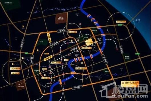 环创中心交通图