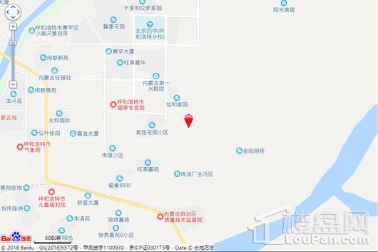 香榭朗寓交通图