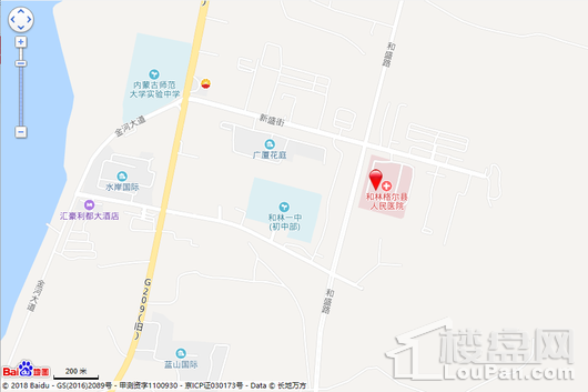 广盛佳园交通图