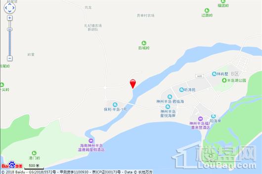 国安七星海岸电子地图