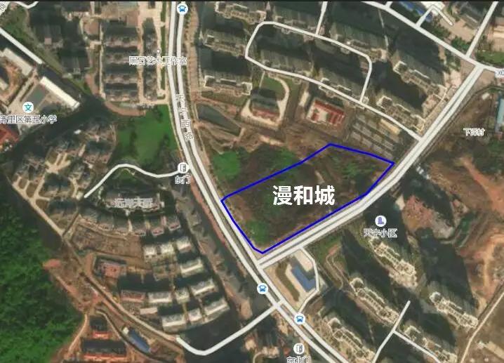 漫和城商业中心位置图