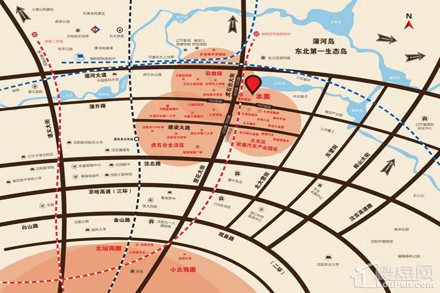 首开国风润城位置图