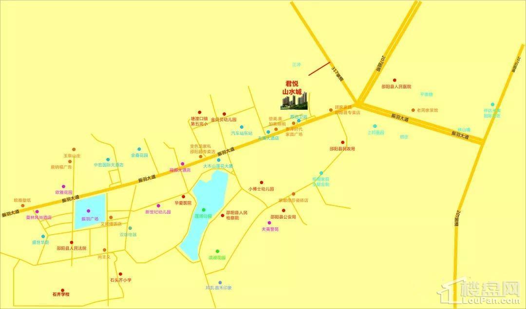 君悦山水城位置图