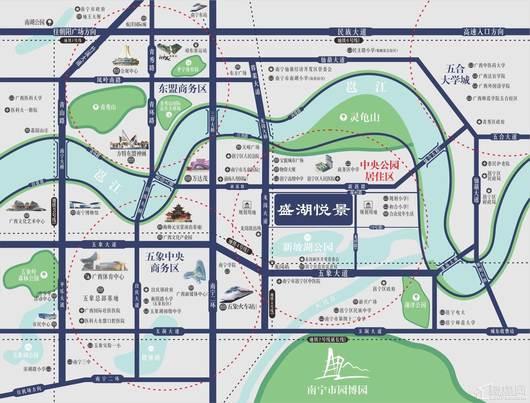 盛湖悦景位置图