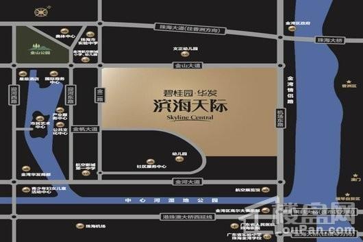 碧桂园·华发滨海天际位置图