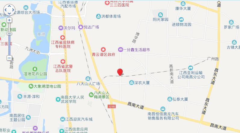 新力水投锦瑶府位置图